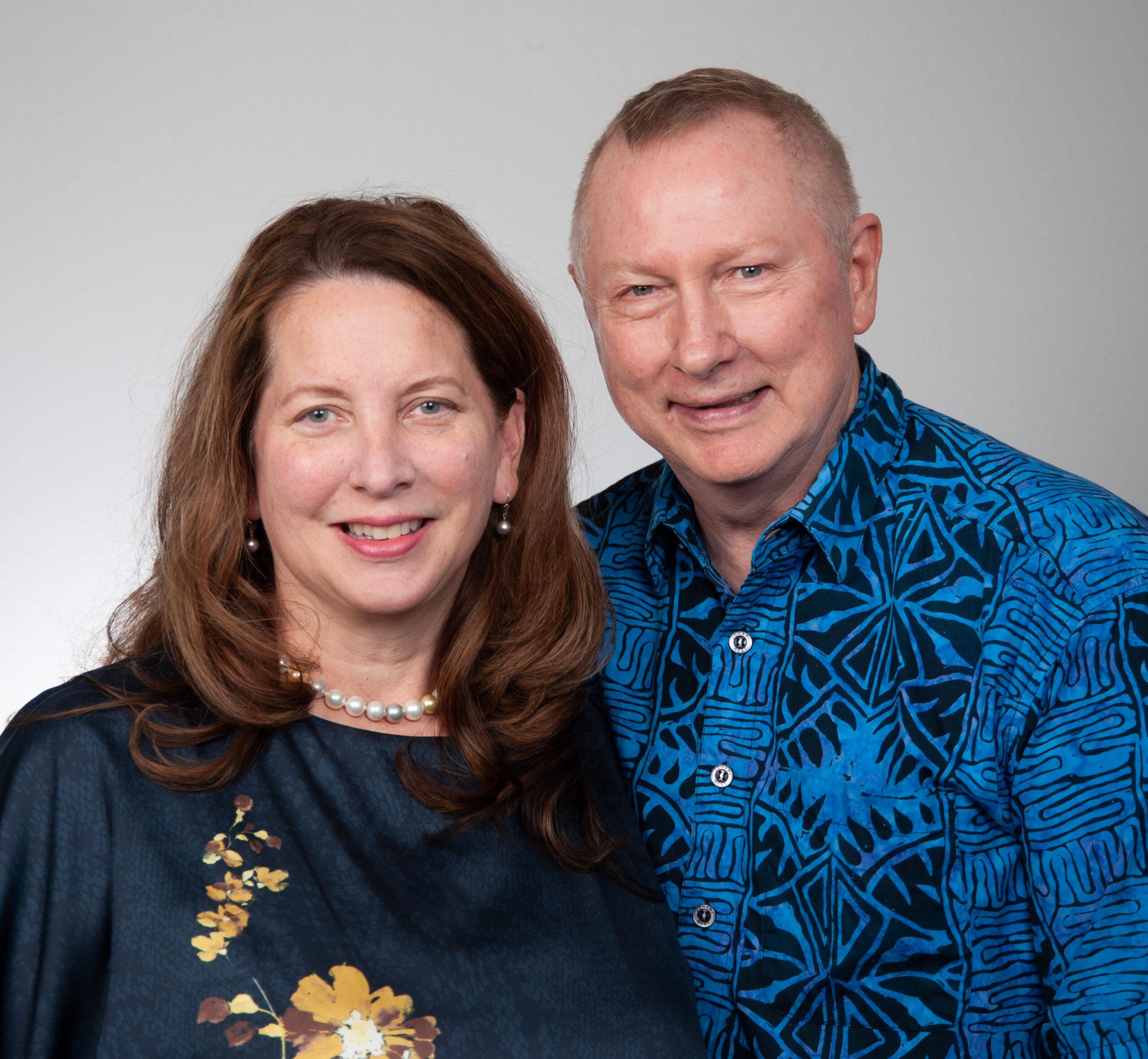 Marishka Pilch and Larry Gill